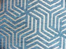 画像9: 「即納F」はぎれ69×50:ヴェルティゴ(ジャカード、ブルーパン)/155g (9)