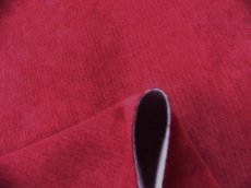 画像4: 「取寄せ」布:ドゥスール(色番21)ベロアボルドー /500g (4)