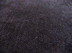 画像2: 「取寄せ」布:ドゥスール(色番30)ベロア黒 /500g (2)