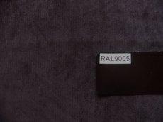 画像6: 「取寄せ」布:ドゥスール(色番30)ベロア黒 /500g (6)