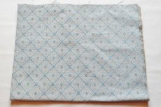 画像2: 「即納F」はぎれ70×50:ロレンザッチオ(ジャカード、ブルー・アクア)/180g (2)