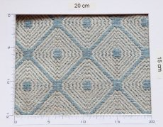 画像5: 「即納F」はぎれ70×50:ロレンザッチオ(ジャカード、ブルー・アクア)/180g (5)