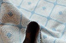 画像9: 「即納F」はぎれ70×50:ロレンザッチオ(ジャカード、ブルー・アクア)/180g (9)