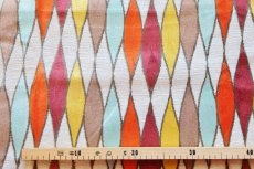 画像2: 「即納J」はぎれ69×50:イタリアーノ(ジャカード、空色、オレンジ、イエロー)/225g (2)