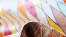 画像5: 「即納J」はぎれ69×50:イタリアーノ(ジャカード、空色、オレンジ、イエロー)/225g (5)