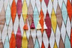 画像8: 「即納J」はぎれ69×50:イタリアーノ(ジャカード、空色、オレンジ、イエロー)/225g (8)