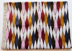 画像2: 「F在庫」はぎれ69×50:イタリアーノ(ジャカード、ピンク、オリーヴ、ブルー)/225g (2)