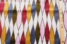 画像11: 「F在庫」はぎれ69×50:イタリアーノ(ジャカード、ピンク、オリーヴ、ブルー)/225g (11)