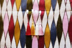 画像12: 「F在庫」はぎれ69×50:イタリアーノ(ジャカード、ピンク、オリーヴ、ブルー)/225g (12)