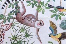 画像16: 「取寄せ」布:ジャングル(クリームベース) (16)
