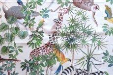 画像12: 「取寄せ」布:ジャングル(クリームベース) (12)