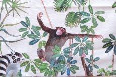 画像10: 「取寄せ」布:ジャングル(クリームベース) (10)
