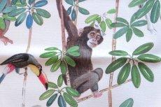 画像14: 「取寄せ」布:ジャングル(クリームベース) (14)