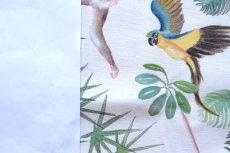 画像7: 「取寄せ」布:ジャングル(クリームベース) (7)