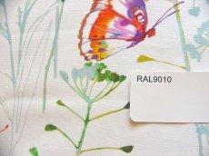 画像7: 「移動中」はぎれ68x50:アドミラル(オレンジ・水色、スプリング)/100g (7)