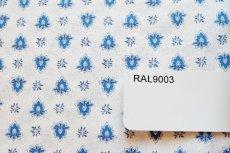 画像11: 「F在庫」はぎれ80x50:アヴィニヨン(プロヴァンス風、白ベース・ブルー)/80g (11)