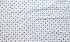 画像5: 「F在庫」はぎれ80x50:アヴィニヨン(プロヴァンス風、白ベース・ブルー)/80g (5)