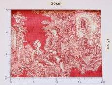 画像6: 「即納J」はぎれ70x50:MFTAパストラル(赤ベース赤) /95g (6)