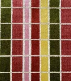 画像14: 「即納F」はぎれ68×50:ユージーン(ジャカード、チェック、ピンク・オリーブ)/220g (14)