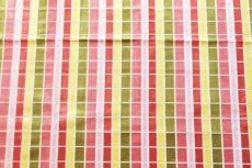 画像12: 「即納F」はぎれ68×50:ユージーン(ジャカード、チェック、ピンク・オリーブ)/220g (12)
