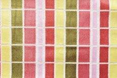 画像13: 「即納F」はぎれ68×50:ユージーン(ジャカード、チェック、ピンク・オリーブ)/220g (13)