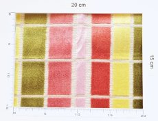 画像8: 「即納F」はぎれ68×50:ユージーン(ジャカード、チェック、ピンク・オリーブ)/220g (8)