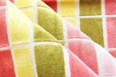 画像4: 「即納F」はぎれ68×50:ユージーン(ジャカード、チェック、ピンク・オリーブ)/220g (4)