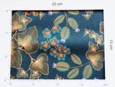 画像7: 「即納F」はぎれ70×50:フェニックス(コットン、ブルーベース)/90g (7)