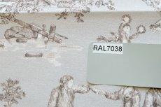 画像17: 「即納J」はぎれ70×50:Thevenon四季(グレイベース)/105g (17)