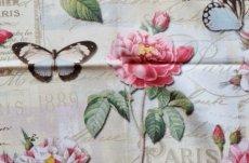 画像9: 「即納J」はぎれ70x50:オー・ド・コロン(ホワイトベース、蝶、花) /90g (9)
