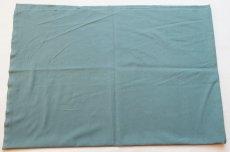 画像2: 「即納J」 はぎれ75×50:薄手コットン無地(色番83 パティーナグリーン)/75g (2)