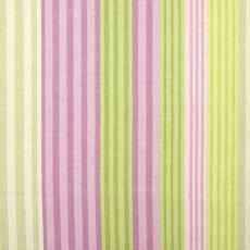 画像1: 「F在庫」はぎれ68×50:バーリントン(ストライプ、濃いピンク・グリーン) (1)