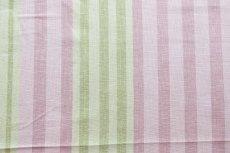 画像8: 「即納F」はぎれ68×50:バーリントン(ストライプ、ヴィンテージ、ピンク・水色・グリーン)/80g (8)