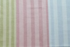 画像7: 「即納F」はぎれ68×50:バーリントン(ストライプ、ヴィンテージ、ピンク・水色・グリーン)/80g (7)