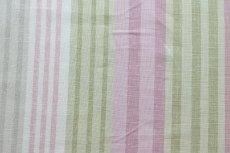 画像5: 「即納F」はぎれ68×50:バーリントン(ストライプ、ヴィンテージ、ピンク・水色・グリーン)/80g (5)