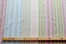 画像15: 「即納F」はぎれ68×50:バーリントン(ストライプ、ヴィンテージ、ピンク・水色・グリーン)/80g (15)