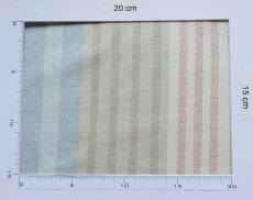 画像14: 「即納F」はぎれ68×50:バーリントン(ストライプ、ヴィンテージ、ピンク・水色・グリーン)/80g (14)