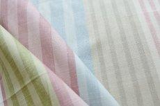 画像11: 「即納F」はぎれ68×50:バーリントン(ストライプ、ヴィンテージ、ピンク・水色・グリーン)/80g (11)