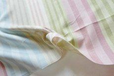 画像10: 「即納F」はぎれ68×50:バーリントン(ストライプ、ヴィンテージ、ピンク・水色・グリーン)/80g (10)