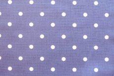 画像10: 「即納F」はぎれ68×50:フルストップ(ドット、デニム)/85g (10)