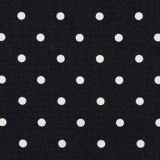 画像1: 「即納F」はぎれ68×50:フルストップ(ドット、黒)/85g (1)