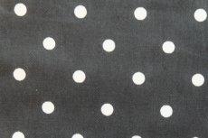 画像3: 「即納F」はぎれ68×50:フルストップ(ドット、黒)/85g (3)