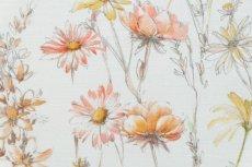 画像10: 「即納J」はぎれ69×50:マリー(ハーベストベージュ、オレンジ)/100g (10)