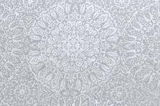 画像14: 「移動中」はぎれ69×50:ドリームキャッチャー(ジャカード、クラウドグレイ) /113g (14)
