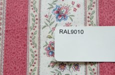 画像8: 【在庫なし】「即納F」はぎれ80x50:ボーケール・ストライプ(赤・水色)/70g (8)