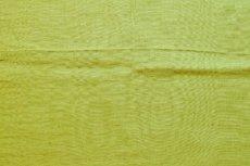 画像3: 「J即納」はぎれ70×50:ラーヴ(色番92アニスグリーン、麻) (3)