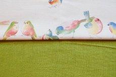 画像7: 「J即納」はぎれ70×50:ラーヴ(色番92アニスグリーン、麻) (7)