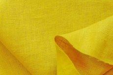 画像1: 「F在庫」はぎれ70×50:ラーヴ(色番94マスタード、麻) (1)