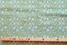 画像2: 「即納J」はぎれ70×50:ウォールペーパー(グリーンベース)/90g (2)