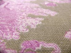 画像5: 「即納J/F」はぎれ70×50:ブランコに乗った少女(麻色ベース紫) /95g (5)